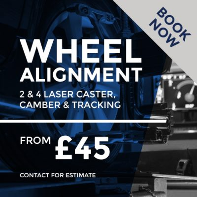 2 and 4 wheel laser alignment